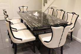 dining room table and 8 chairs for sale. arezzo marble dining table with 8 chairs room and for sale