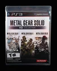 Metal Gear Solid Hd Collection Playstation 3 83717202332 Ebay