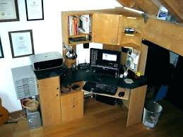 tower computer desk. Computer Tower Cabinet Furniture Home Desk Ideas With Regard To Corner Decorations
