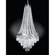 empire style basket chandelier french crystal chandeliers lighting light fixture ch