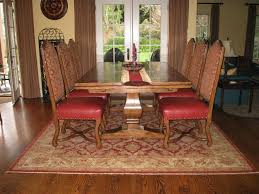 stylish how to choose an oriental rug size catalina with dining room rugs under table