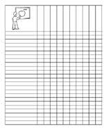 Free Printable Student Checklist Great For Homework Stations Etc