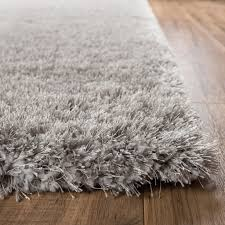 shag rugs. Shimmer Shag Silver Grey Solid Modern Area Rug Rugs I