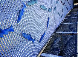 On the Fence temporary art installation focuses on salmon Edmonds