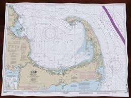 Cape Cod Chart Second Life Marketplace Cape Cod Bay Noaa Nautical Chart
