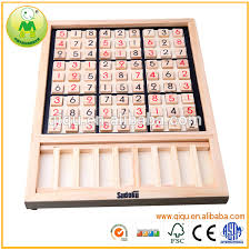 Wooden Sudoku Game Board Alibaba Hot Sales Educational Math Toys Wooden Sudoku Board Game 29