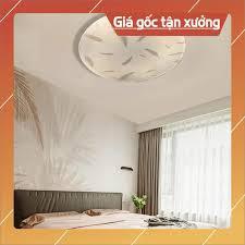 Đèn Ốp trần, đèn trần led 24w lông vũ trang trí phòng ngủ, hành lang