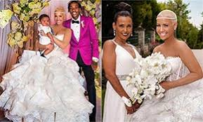 amber rose and wiz khalifa wedding pictures. amber rose and wiz khalifa reveal wedding photos for first time pictures e