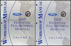 ford five hundred service manuals shop owner maintenance and 2005 style 500 montego repair manual original