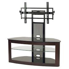 tv stand with mount 65 inch. transdeco glass tv stand with mounting system for 35-65 inch screens (espresso) td600es tv mount 65