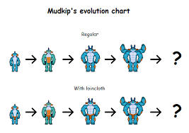 Mudkips Evolution Chart By Effra Fur Affinity Dot Net