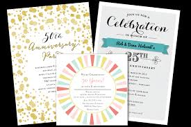 50th Anniversary Party Invitations Email Online Anniversary Invitations That Wow Greenvelope Com