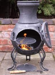 Backyard Firepit And Chiminea Safety