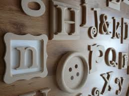 Wooden Wall Alphabet Letters, Wooden Letters for Wall | Furniture