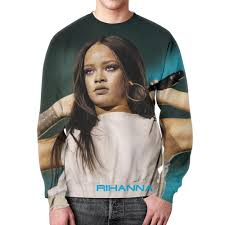 """Свитшот мужской с полной запечаткой """"<b>Rihanna</b>"""" #1961745 от ..."""