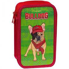 <b>Спейс Пенал 3</b> отделения ArtSpace Bulldog 19x11 см ...