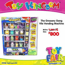 Grossery Gang Vending Machine Extraordinary The Grossery Gang Vile Vending Machine On Sale LoopMe Philippines