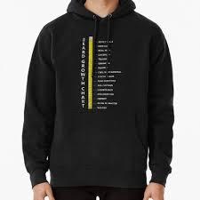 Beard Growth Chart Sweatshirt Mens Beard Length Growth Chart Ruler T Shirt Hoodie