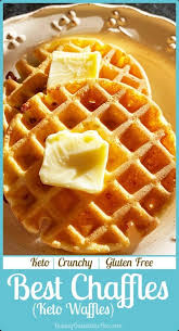 Mix together your flourless chaffle ingredients of an egg, room temperature or melted cream cheese, almond butter, baking soda and sweetener in a bowl or in a blender. Best Keto Chaffles Waffle Recipe Baking Outside The Box