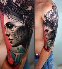 Bad ass upper arm tattoos
