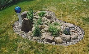 Small Rock Garden Ideas Small Front Yard Rock Garden Ideas