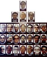 Crime Family Chart John Gotti 8x10 Photo Mafia Organized Crime Family Chart Mobster Mob Picture