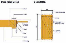door jamb detail plan. 8x10 Garden Shed Plans Blueprints 6 Door Jamb Detail Plan O