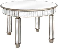 hill interiors belfry mirrored grand round dining table 120cm