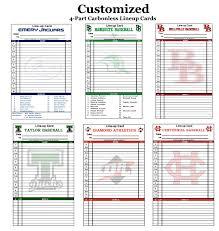 Baseball Lineup And Position Chart Gamegrade Charts