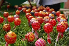 candy garden. Leftover Candy Ideas Garden A