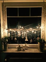 Weihnachtsdeko Selber Basteln Fenster Fensterdeko Im Winter