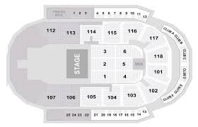 Seating Charts Meridian Centre