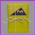 bücher dekorativ verpacken