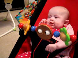 Baby Bjorn Babysitter Wooden toy....Baby Ava Sounds.MOV - YouTube