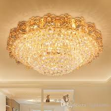 led crystal chandeliers gold fancy round high class k9 crystal chandelier hotel lobby villa led pendant chandeliers including free bulbs chandeliers for