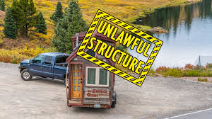 Small Picture Tiny House Eviction How Parking a Tiny House Can Be Illegal with