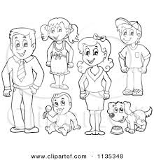 Small Picture Free Clipart Family Members 101 Clip Art