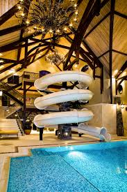 indoor pools in mansions with slides. Interesting Mansions Amazing 3Story Indoor Swimming Pool With Water Slide U0026 Rock Climbing Wall   Homes Of The Rich Pools In Mansions Slides