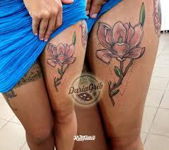 значение татуировки магнолия фото и эскизы тату магнолия