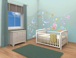 baby under the sea room decor kit