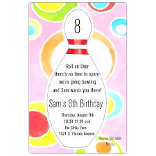 Bowling Party Invitations Free Downloadable Bowling Birthday Party Invitations P Z