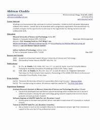 Angular 2 Resume Best Of 51 Fresh Software Engineer Resume Examples