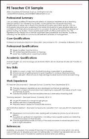 Physical Education Teacher Resume Fascinating Physical Education Teacher Resume 28 Ifest