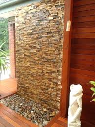 decoration best fountains images on fountain water wall cascading features with stone cladding custom glass