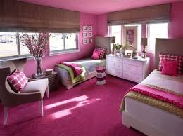 View in gallery Girls' bedroom idea for those who love an overdose of pink!
