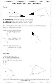 Free high school math worksheet from Funmaths.com | Trigonometry ...