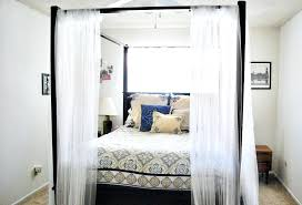 White Canopy Bed White Canopy Bed Size White Full Size Canopy Bed ...