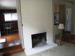 painted white brick fireplaceWhite Brick Fireplace Makeover Ideas  Home Fireplaces Firepits