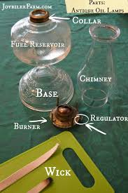 antique oil lamps how to clean