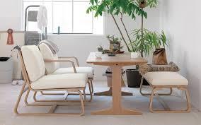 muji office chair. oak wood living dining furniture muji office chair